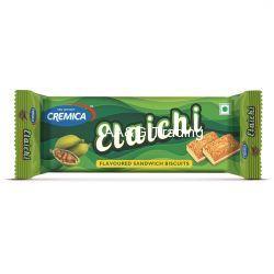 Cremica Elaichi Flavored Sandwich Biscuits (75 gm)