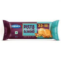 Cremica Pista Almond Cookies (75g25g) 25gm Extra Free
