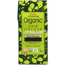 Radico COLOUR ME 100 Organic USDA Certified Hair Colour (Dark Brown)