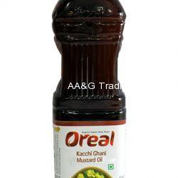 Oreal Kacchi Ghani Mustard Oil (1Ltr)