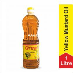 Oreal Yellow Mustard Oil (1Ltr)