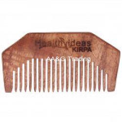 Healthy Ideas Kirpa Hand Crafted Herbal Neem Wood Comb