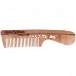 Healthy Ideas Regular Hand Crafted Herbal Neem Wood Comb