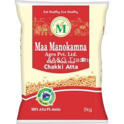 Maa Manokamna Whole Wheat Atta (5 Kg)