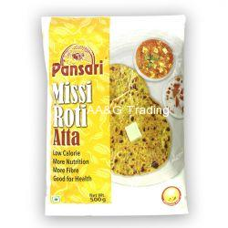 Pansari Missi Roti Atta  Flour Pouch (500g)