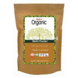 Radico 100 ORGANIC Certified Hair Treatments & Conditioning Herbs Powder (Methi)
