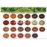 Radico HERBAL Certified Permanent Hair Color Powder With Nourishing Herbs (Natural Burgundy)