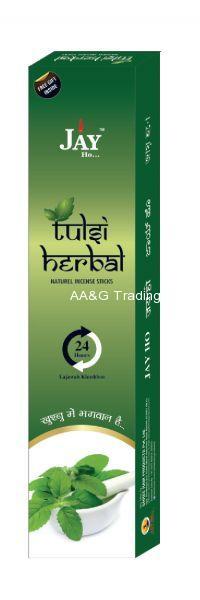 Jay Ho Natural Tulsi Herbal Incense SticksAgarbatti (100gm)