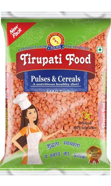 Tirupati Food Masoor Kee Dal  (1Kg)
