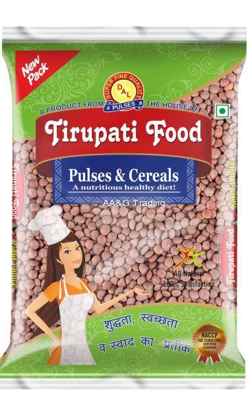Tirupati Food Whole      Sabut Kali Masoor Dal  (1Kg)