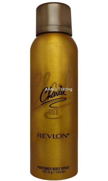 Revlon Charlie Gold Perfumed Body Spray 150 ml