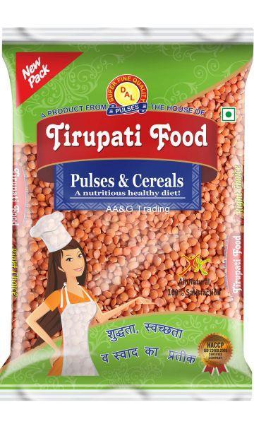 Tirupati Food Laal Masoor Malka Dal  Pulses (1Kg)