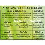 Radico 100 ORGANIC Certified Hair Treatments & Conditioning Herbs Powder (Brahmi)