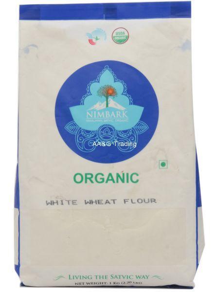 Nimbark Organic White Wheat FlourMaida (1Kg)