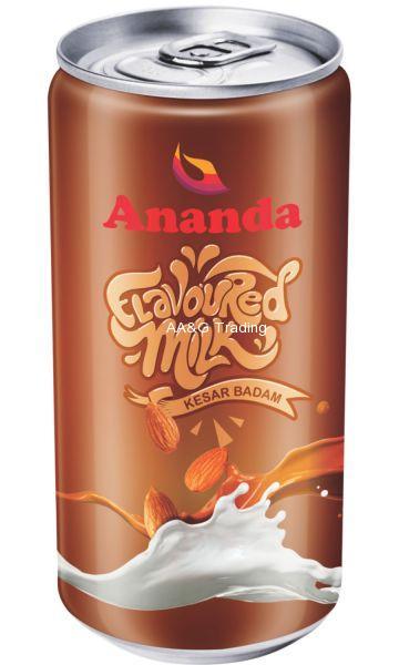 Ananda Kesar Badam Milk Can (180 ml)