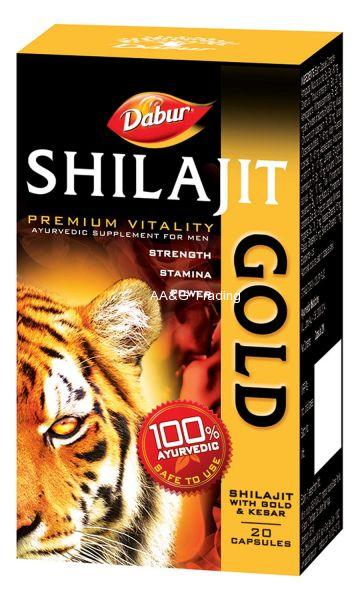 Dabur Shilajt Gold Pack of 20 Capsules