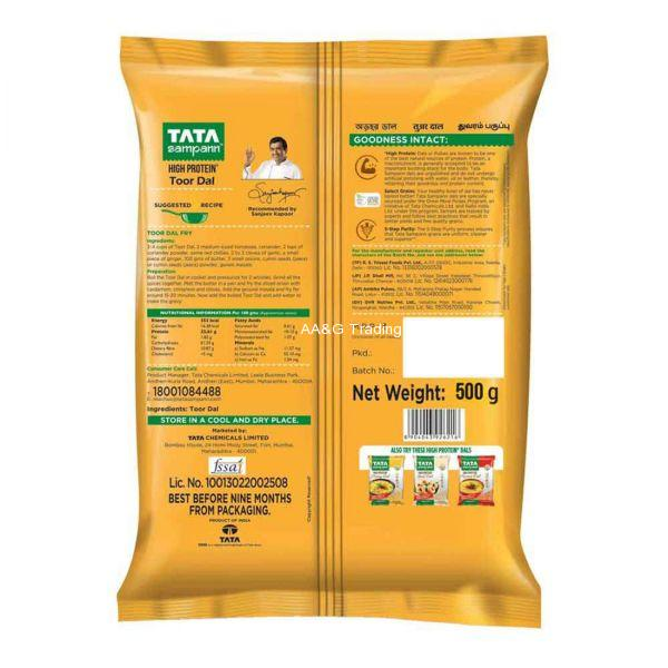Tirupati Food Arhar Dal  Toor Dal  Pulses (500 gm)