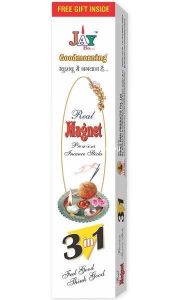 Magnet 3 In 1 Premium Box Incense Sticks Agarbatti (100gm)