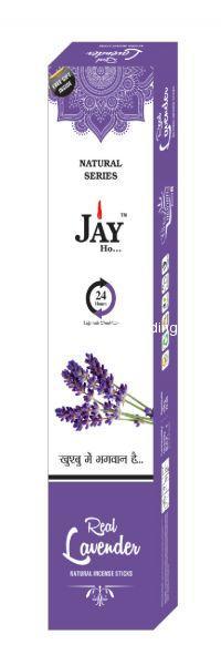 Jay Ho Natural Lavender Incense Sticks  Agarbatti (100gm)