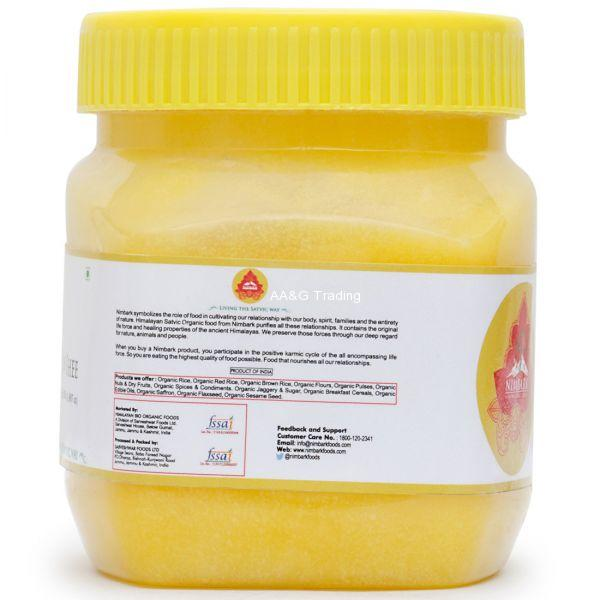 Nimbark Organic Cow Ghee (500ml)