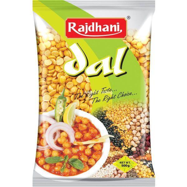 Rajdhani Arhar DalToor Dal Pulses (500g)