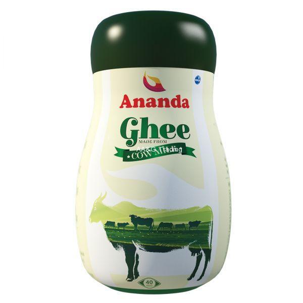 Ananda 1 Ltr Cow Milk Ghee Jar
