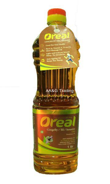 Oreal Gingelly      Til Oil Bottle (1 Ltr)
