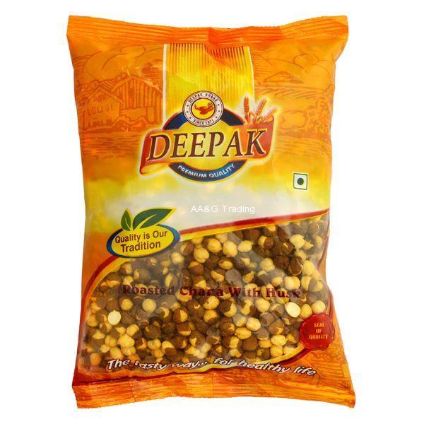 Deepak Roasted Chana With Husk Pouch (500g)