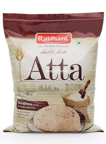 Rajdhani Chakki Fresh Atta (5Kg)