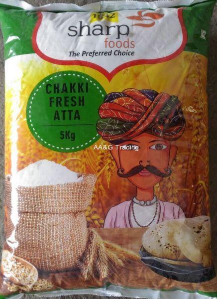 Sharp Foods Chakki Fresh Atta (5kg)