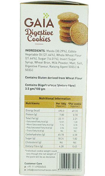 Gaia Digestive Cookies (200g)
