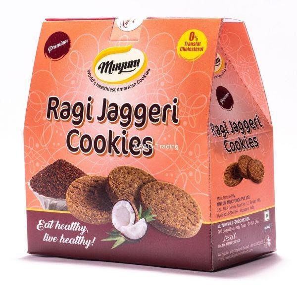 Muyum Ragi Jaggeri Cookies 100g