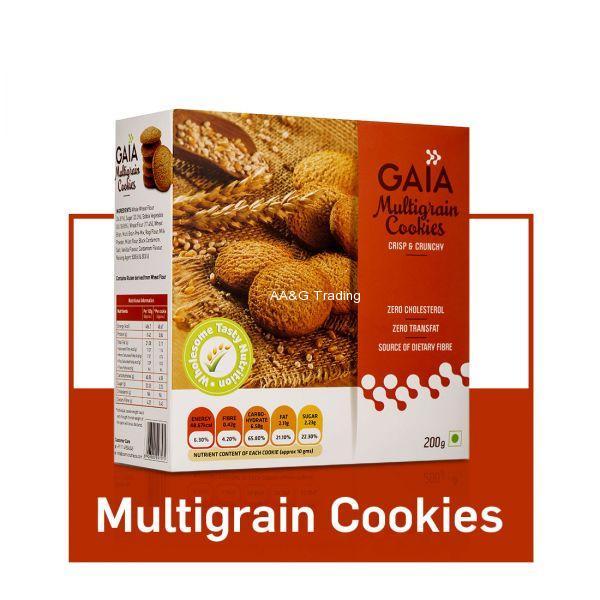 Gaia Multigrain Cookies (200g)