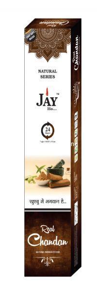 Jay Ho Natural Chandan Incense Sticks Agarbatti (100gm)