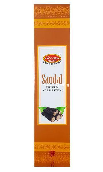 Veeana Sandal AgarbattiIncense Sticks with Match Box