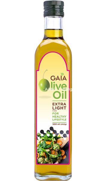 Gaia Extra Light Olive Oil (500ml)