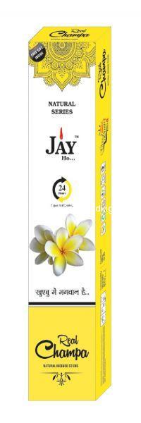 Jay Ho Natural Champa Incense Sticks Agarbatti (100gm)