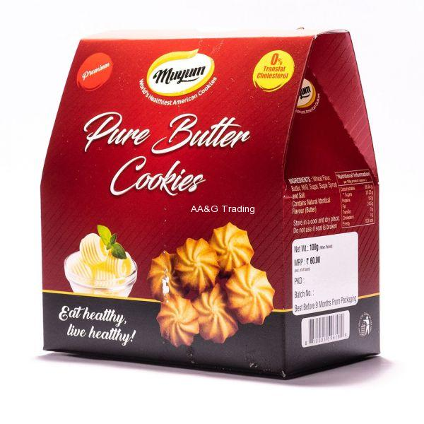 Muyum Pure Butter Cookies 100g