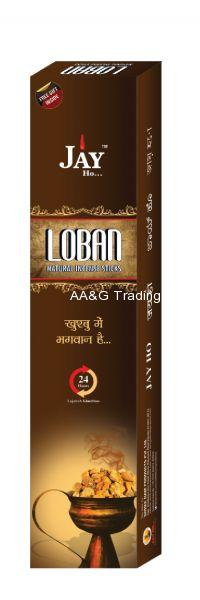 Jay Ho Natural Loban Incense Sticks  Agarbatti (100gm)