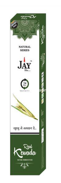 Jay Ho Natural Kewada Incense Sticks  Agarbatti (100gm)
