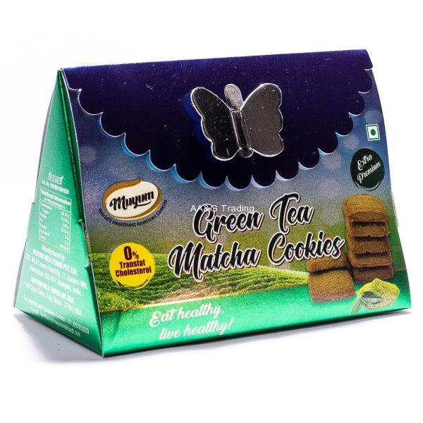 Muyum Green Tea Matcha Cookies 60g