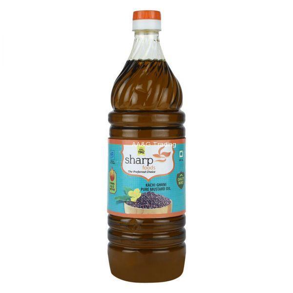 Sharp Food Mustard Oil         Kacchi Ghani Bottle (1Ltr)
