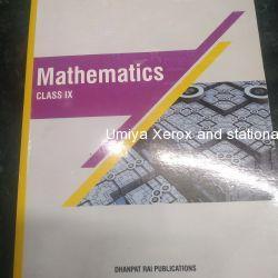 Std 9 mathematics R D Sharma