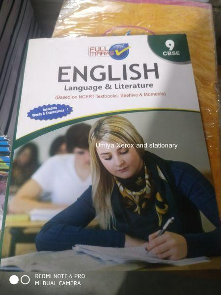 Std 9 english subject fullmarks digest, ncert(cbse)