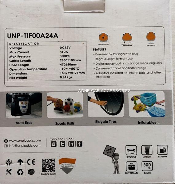 Unplug Tyre Inflator