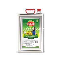 Gulab Refined Sunflower Oil (Tin) 15 lt