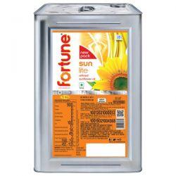 Fortune Refined Sunflower Oil 15 L