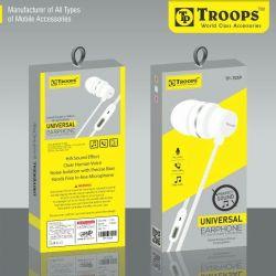 Rs 65 Pcs (Set of 6 Pcs) Troops 7059 Universal Earphone