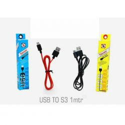 Rs 25 Per Pcs (Set of 10 Pcs) S3 Charging Cable with 6 Month warranty