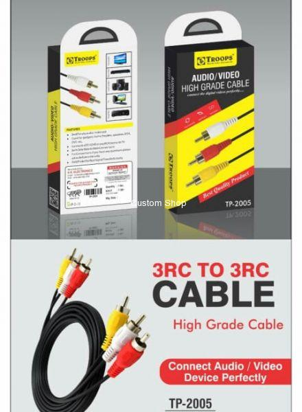 3RC to 3RC Cable High Quality